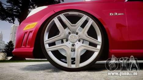 Mercedes-Benz E63 AMG pour GTA 4 Vue arrière