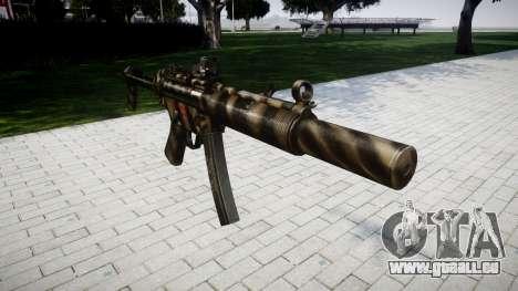 Pistolet MP5SD DRS FS pour GTA 4