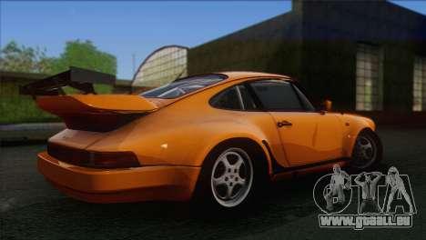 Porsche 911 Turbo 1982 Tunable KIT C PJ für GTA San Andreas Rückansicht