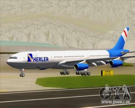 Airbus A340-300 Air Herler pour GTA San Andreas laissé vue