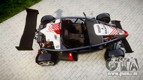 Ariel Atom V8 2010 [RIV] v1.1 Rosso & Bianco pour GTA 4 est un droit