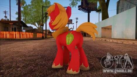 Big Macintosh from My Little Pony pour GTA San Andreas deuxième écran