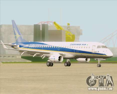 Embraer E-190-200LR House Livery für GTA San Andreas Innenansicht