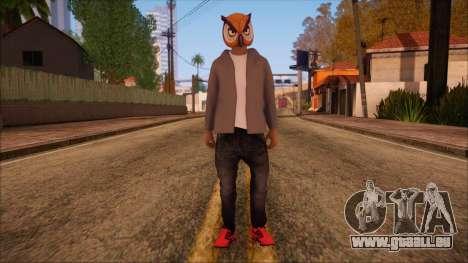 GTA 5 Online Skin 6 pour GTA San Andreas