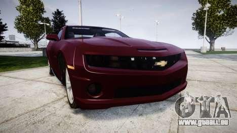 Chevrolet Camaro SS [ELS] Unmarked runners für GTA 4