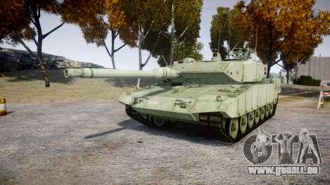 Leopard 2A7 DK Green für GTA 4