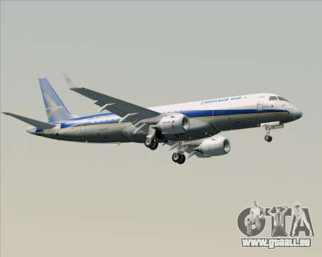 Embraer E-190-200LR House Livery für GTA San Andreas obere Ansicht