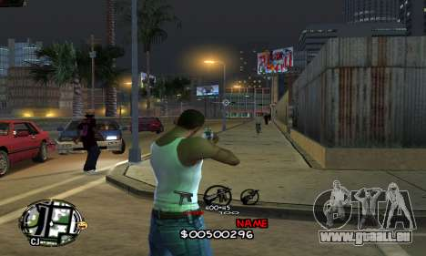 C-HUD by Jackson pour GTA San Andreas