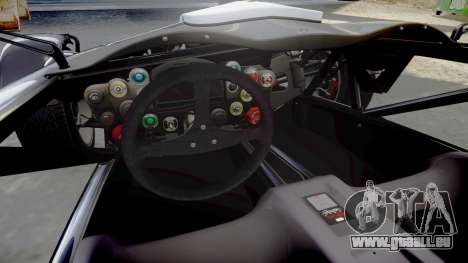 Ariel Atom V8 2010 [RIV] v1.1 AsymBon pour GTA 4 est une vue de l'intérieur