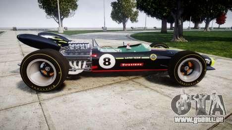 Lotus 49 1967 black für GTA 4 linke Ansicht
