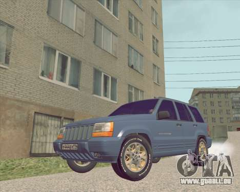 Jeep Grand Cherokee ZJ für GTA San Andreas