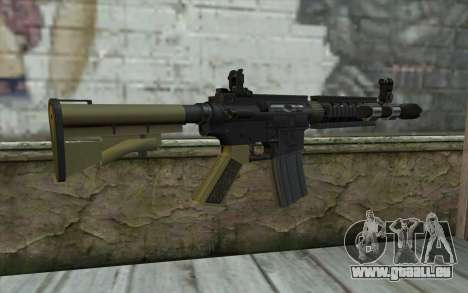 M4 MGS Iron Sight v1 für GTA San Andreas zweiten Screenshot
