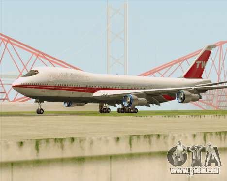 Boeing 747-100 Trans World Airlines (TWA) pour GTA San Andreas laissé vue