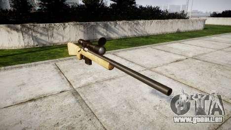 Fusil de tireur d'élite avec des textures HQ pour GTA 4