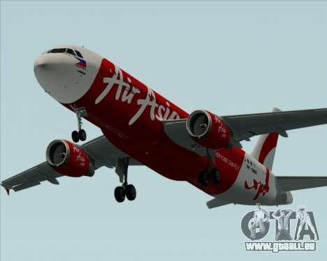 Airbus A320-200 Air Asia Philippines pour GTA San Andreas moteur