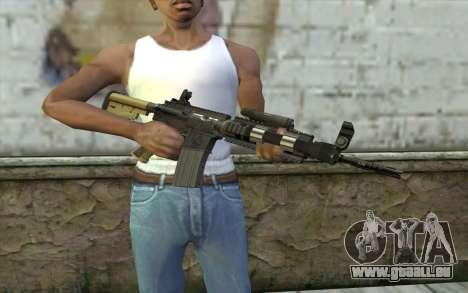 M4 MGS Aimpoint v1 pour GTA San Andreas troisième écran