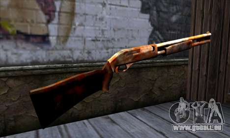 Chromegun v2 Rouillé pour GTA San Andreas deuxième écran