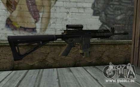 M4A1 from COD Modern Warfare 3 v2 pour GTA San Andreas deuxième écran