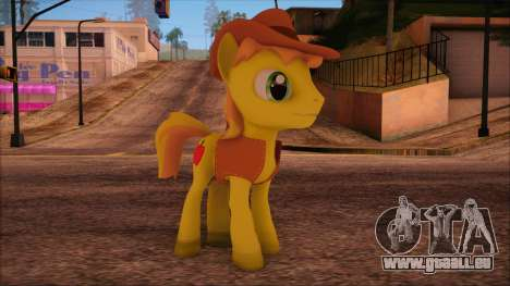 Braeburn from My Little Pony pour GTA San Andreas