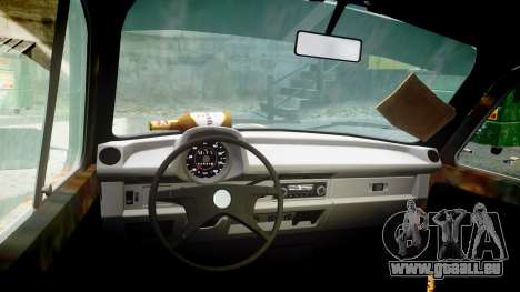 Volkswagen Beetle rust für GTA 4 Rückansicht