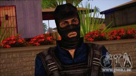 Terror from Counter Strike Condition Zero pour GTA San Andreas troisième écran