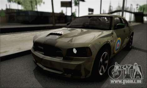 Dodge Charger SuperBee pour GTA San Andreas vue intérieure
