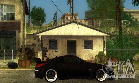 Nissan 350Z Drift pour GTA San Andreas sur la vue arrière gauche