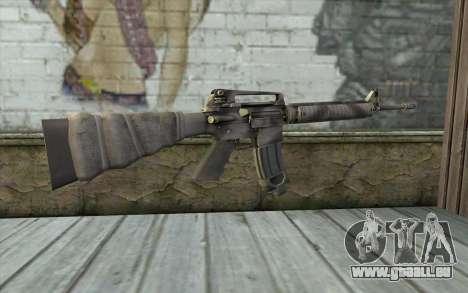 M16A4 from Battlefield 3 pour GTA San Andreas deuxième écran