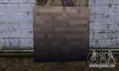 Block (Minecraft) v13 für GTA San Andreas