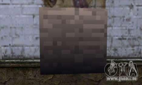 Bloc (Minecraft) v13 pour GTA San Andreas