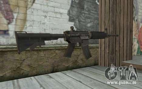 M4 de tireur d'élite Guerrière Fantôme pour GTA San Andreas deuxième écran