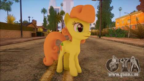 Carrot Top from My Little Pony für GTA San Andreas