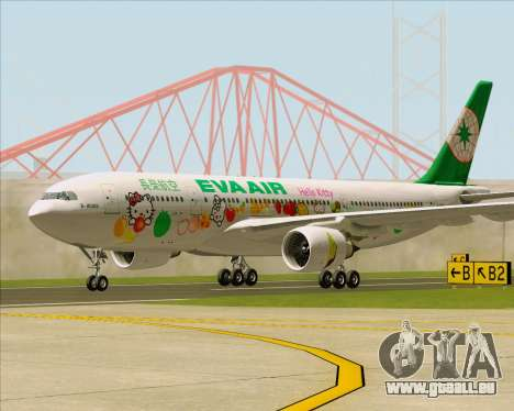 Airbus A330-200 EVA Air (Hello Kitty) für GTA San Andreas linke Ansicht