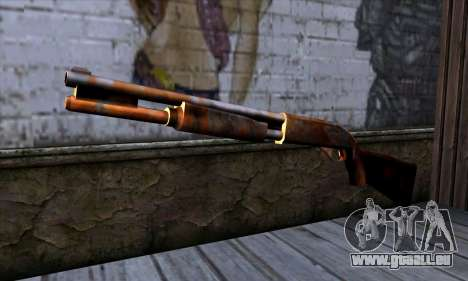 Chromegun v2 Rouillé pour GTA San Andreas