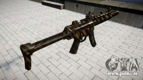 Pistolet MP5SD DRS FS pour GTA 4 secondes d'écran