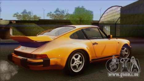 Porsche 911 Turbo 1982 Tunable KIT C PJ für GTA San Andreas linke Ansicht