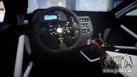 BMW M3 E46 GTR Most Wanted plate NFS Pro Street pour GTA 4 est une vue de l'intérieur