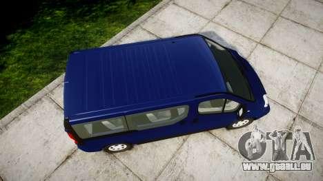 Renault Trafic Passenger für GTA 4 rechte Ansicht
