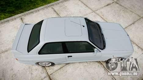 BMW M3 E30 1991 [EPM] pour GTA 4 est un droit