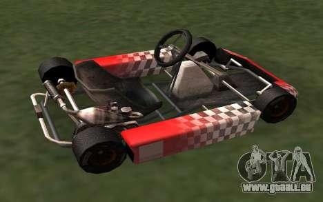 Mis à jour Kart pour GTA San Andreas pour GTA San Andreas laissé vue