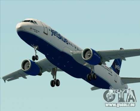 Airbus A320-200 JetBlue Airways pour GTA San Andreas moteur