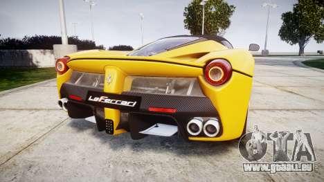 Ferrari LaFerrari [EPM] v1.2 pour GTA 4 Vue arrière de la gauche