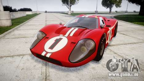 Ford GT40 Mark IV 1967 PJ 1 pour GTA 4