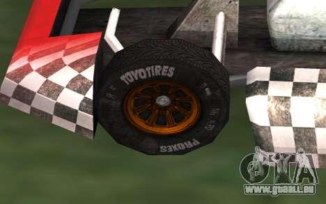 Mis à jour Kart pour GTA San Andreas pour GTA San Andreas vue de droite