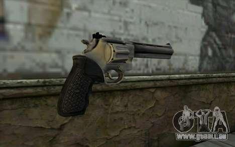 Revolver from Max Payne 3 pour GTA San Andreas deuxième écran