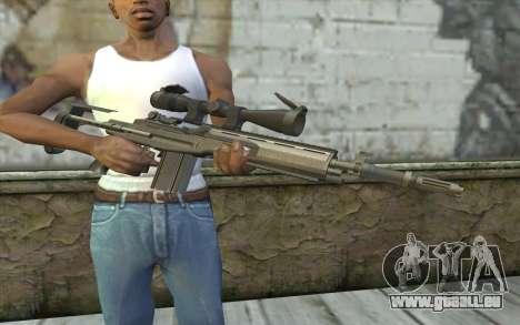 M14 EBR für GTA San Andreas dritten Screenshot