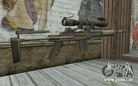 M14 EBR pour GTA San Andreas deuxième écran
