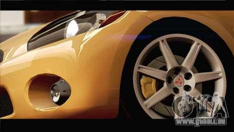 Mitsubishi Eclipse 2006 für GTA San Andreas Seitenansicht