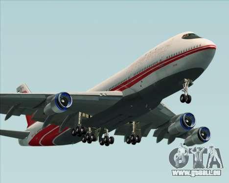 Boeing 747-100 Trans World Airlines (TWA) pour GTA San Andreas moteur