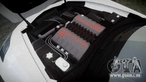 Chevrolet Corvette C7 Stingray 2014 v2.0 TireCon pour GTA 4 est un côté